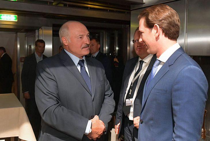 Лукашенко в Вене встретился за ужином с Курцем и австрийскими бизнесменами