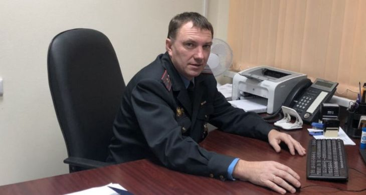Белорусского милиционера поблагодарили из Великобритании