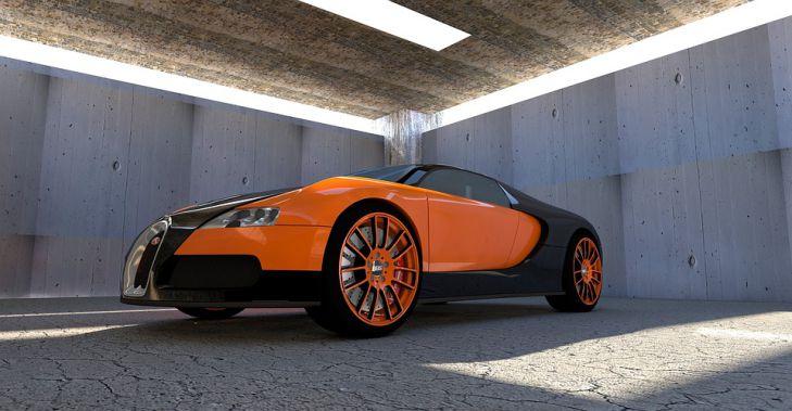 автомобиль Bugatti