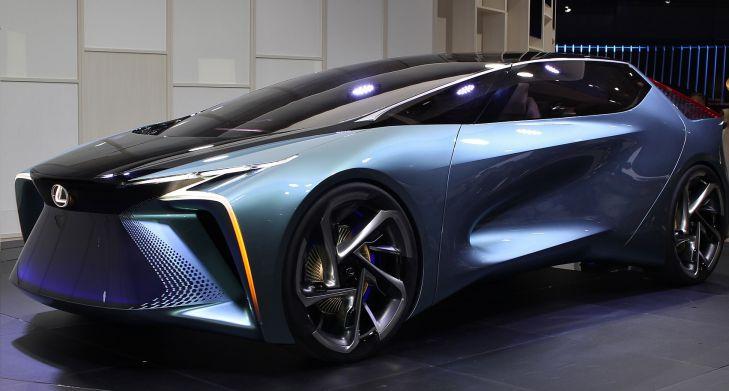 автомобиль Lexus, концепт-кар