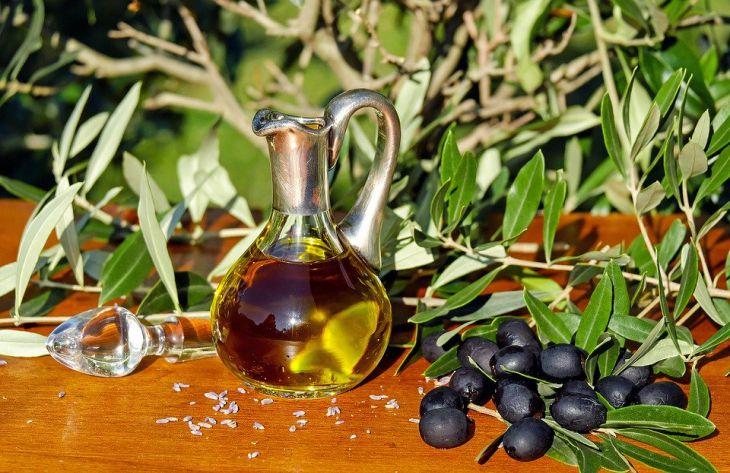 масло, оливки