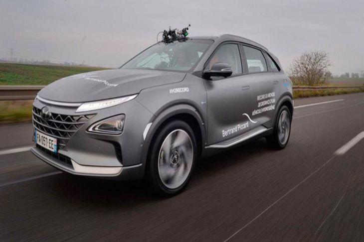 Водородный Hyundai Nexo установил рекорд по дальности хода на одной заправке