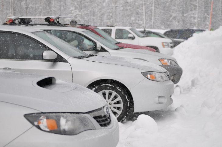 автомобили, зима