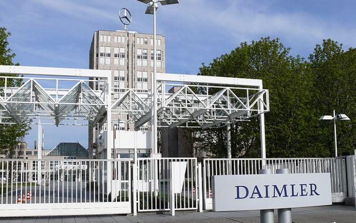 здание компании Daimler