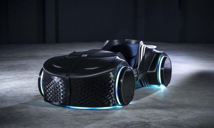 В Германии представили беспилотный электрокар, напечатанный на 3D-принтере