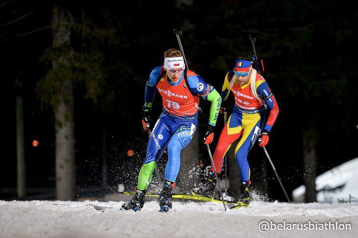 Кубок мира по биатлону. Норвежцы выиграли мужскую эстафету у белорусов – 14-е место