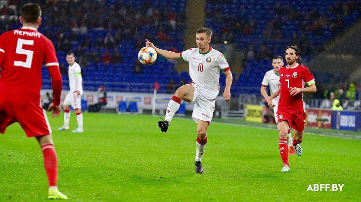 Беларусь уступила Уэльсу в товарищеском матче