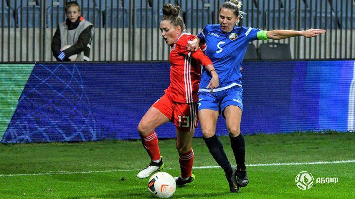 Футбол. Отбор к ЕВРО. Белоруски сыграли с Уэльсом