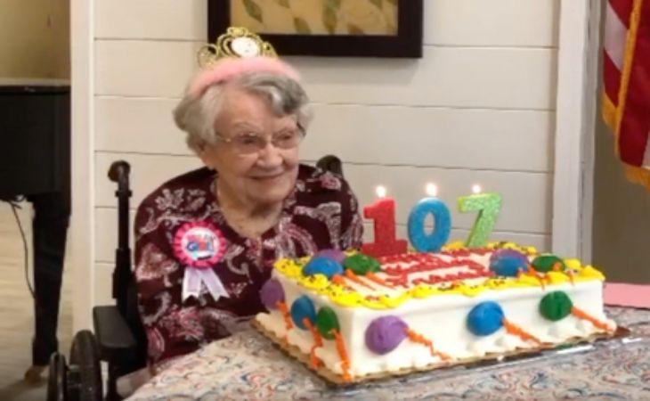 107-летняя женщина раскрыла свой секрет долголетия