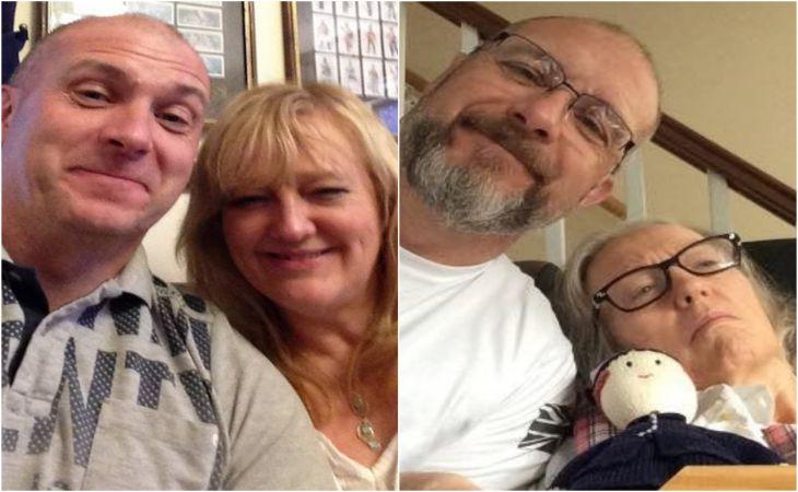 Мужчина показал, как деменция за четыре года изменила его жену